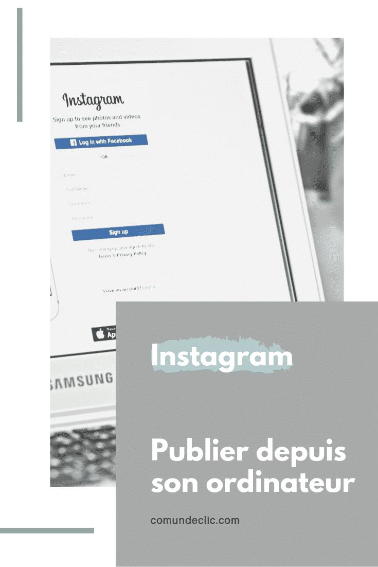 instagram-publier sur ordinateur-consultance-mouscron-comundeclic